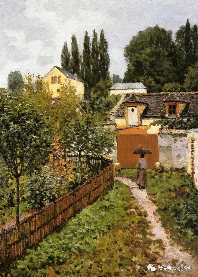 早年与莫奈是同学 法国Alfred Sisley插图111