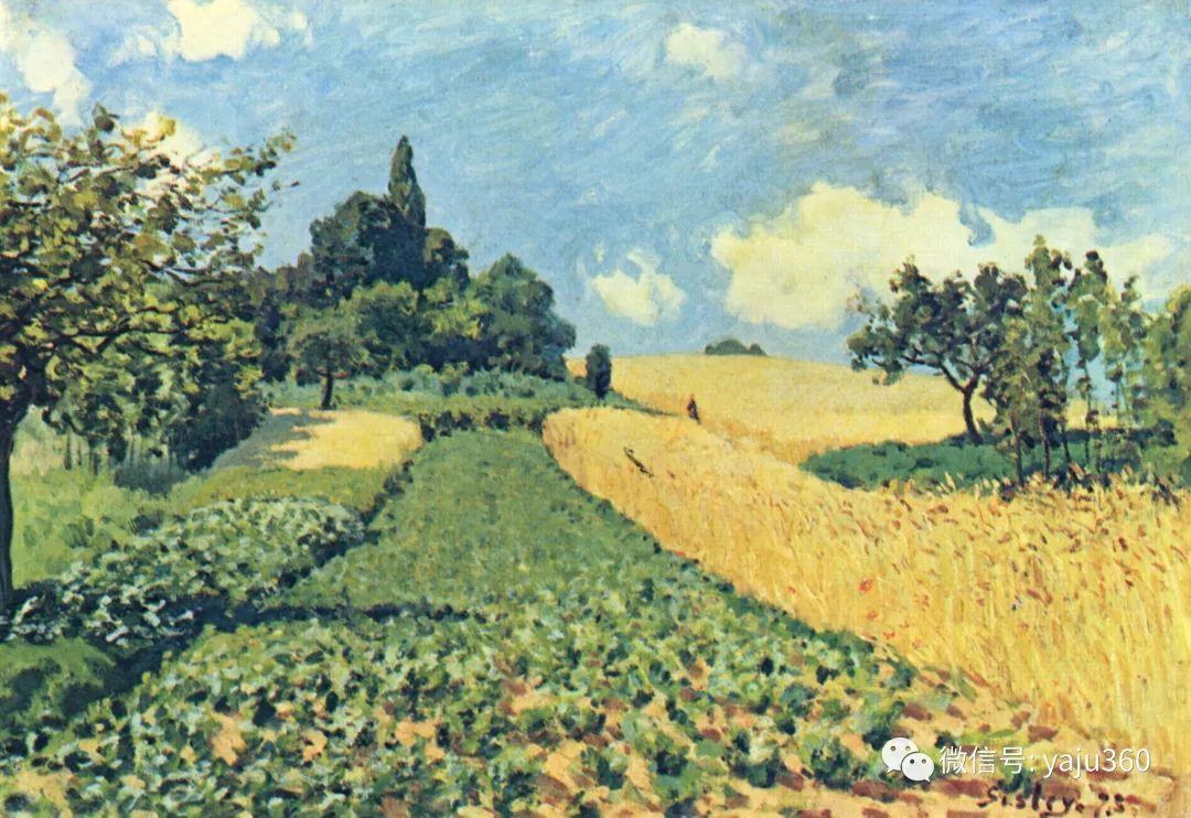 早年与莫奈是同学 法国Alfred Sisley插图113