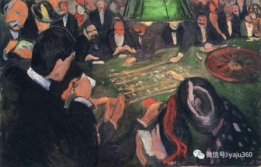 表现主义 挪威画家爱德华·蒙克插图26