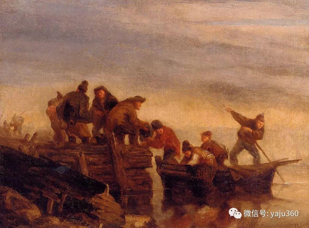 莫奈的启蒙老师 法国画家尤金·布丹插图21