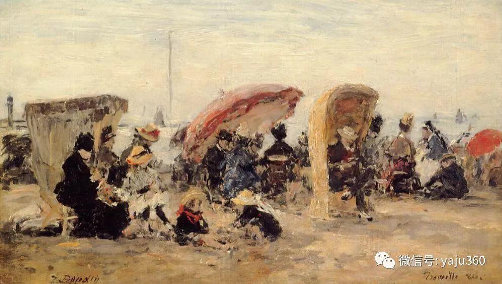莫奈的启蒙老师 法国画家尤金·布丹插图25