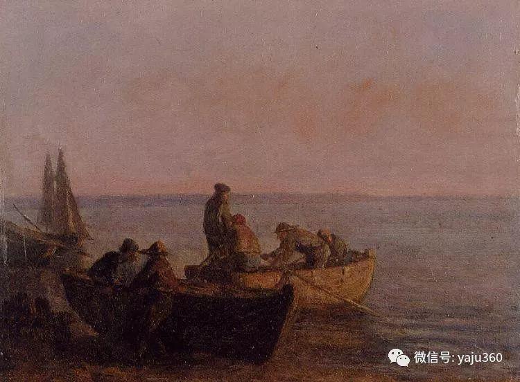 莫奈的启蒙老师 法国画家尤金·布丹插图27