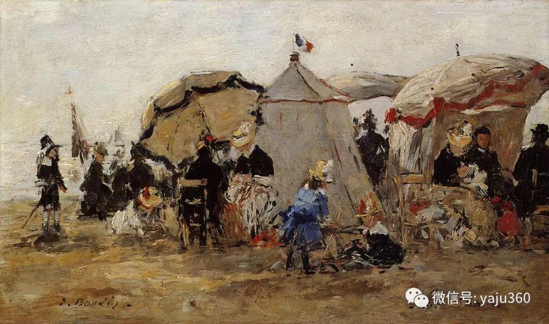 莫奈的启蒙老师 法国画家尤金·布丹插图31
