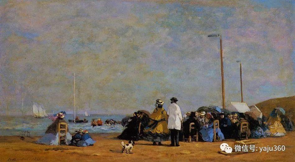 莫奈的启蒙老师 法国画家尤金·布丹插图87