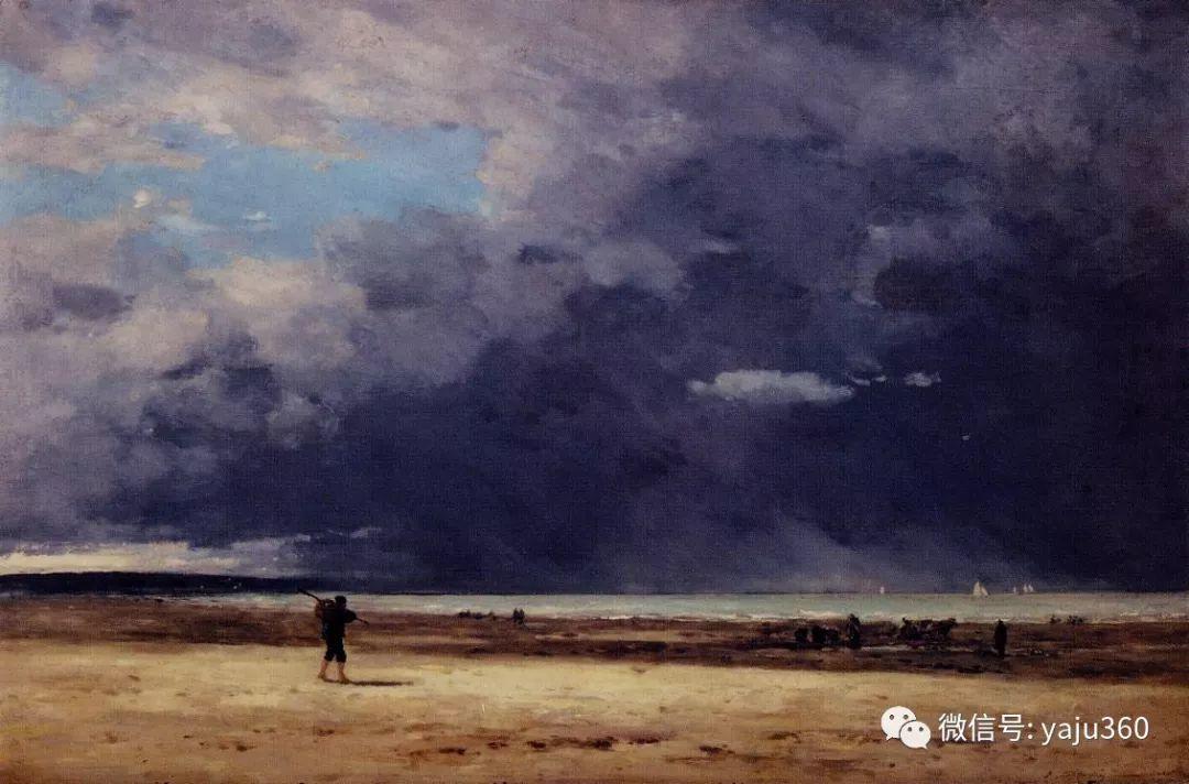 莫奈的启蒙老师 法国画家尤金·布丹插图91