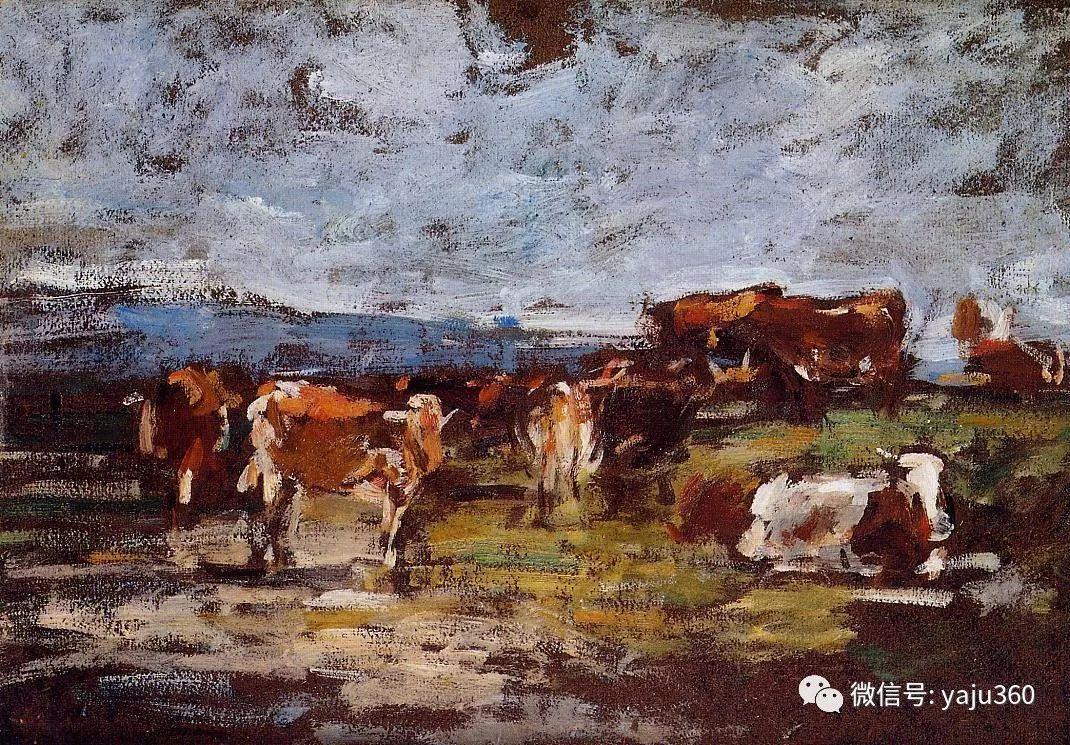 莫奈的启蒙老师 法国画家尤金·布丹插图93