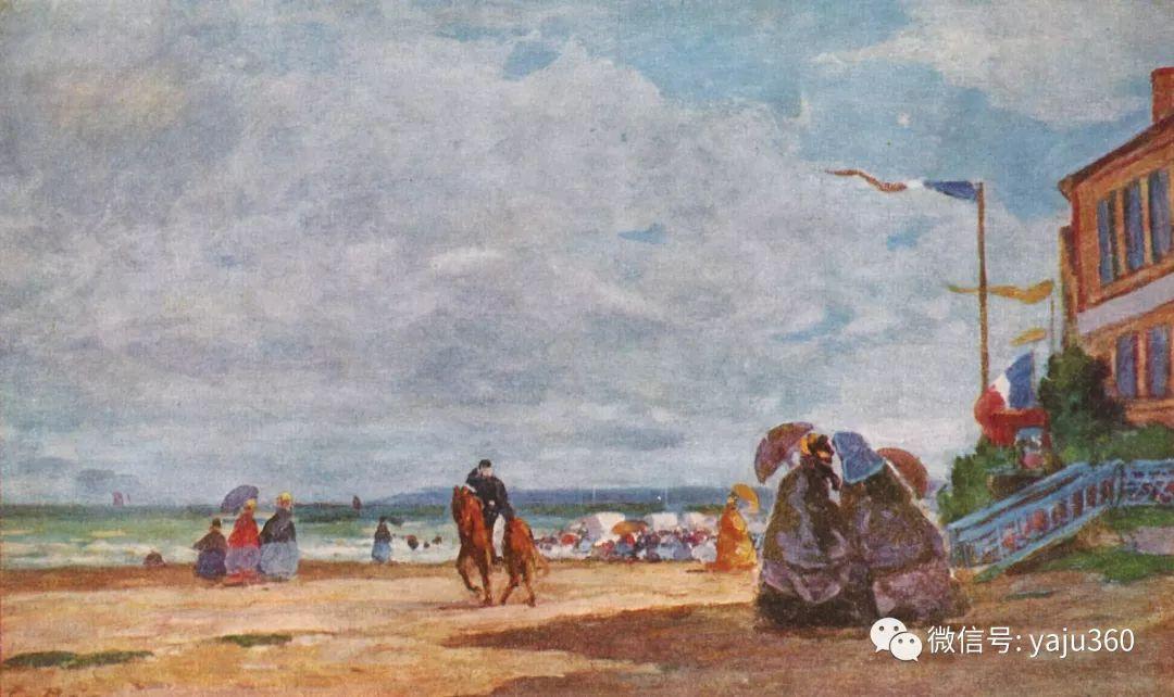 莫奈的启蒙老师 法国画家尤金·布丹插图105