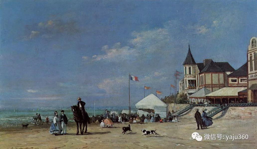 莫奈的启蒙老师 法国画家尤金·布丹插图109