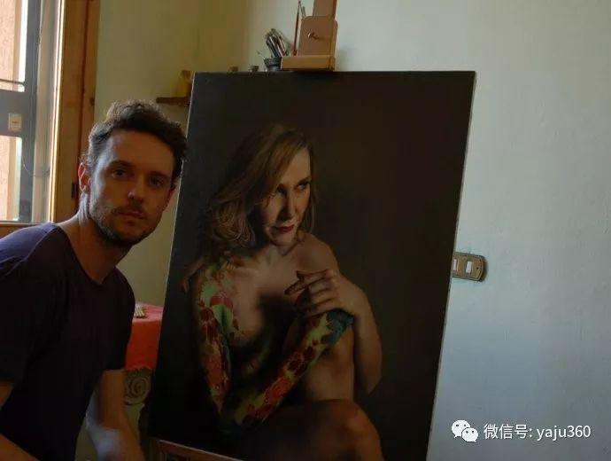 超写实美女油画 意大利画家Marco Grassi插图12