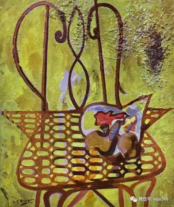 立体主义代表 法国画家乔治·勃拉克插图5