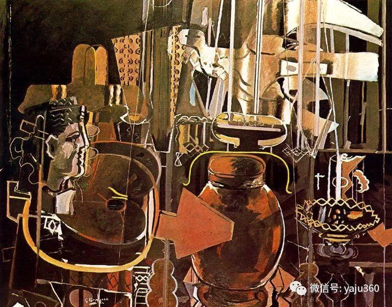 立体主义代表 法国画家乔治·勃拉克插图9