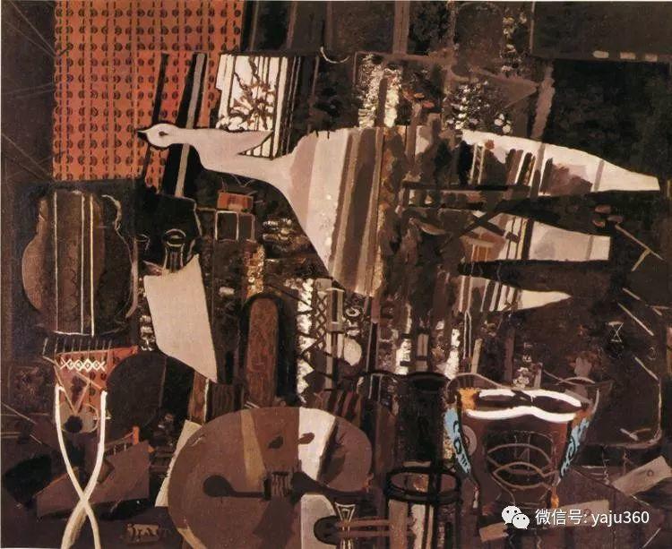 立体主义代表 法国画家乔治·勃拉克插图13