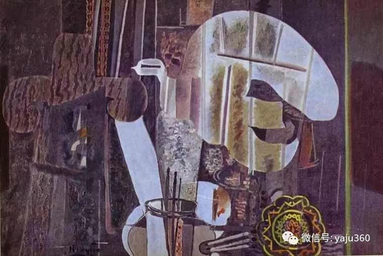 立体主义代表 法国画家乔治·勃拉克插图15