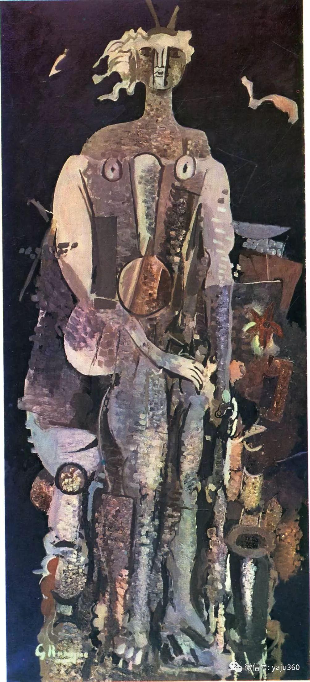 立体主义代表 法国画家乔治·勃拉克插图17