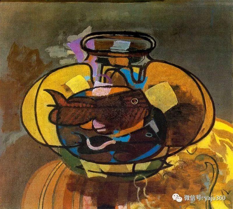 立体主义代表 法国画家乔治·勃拉克插图19