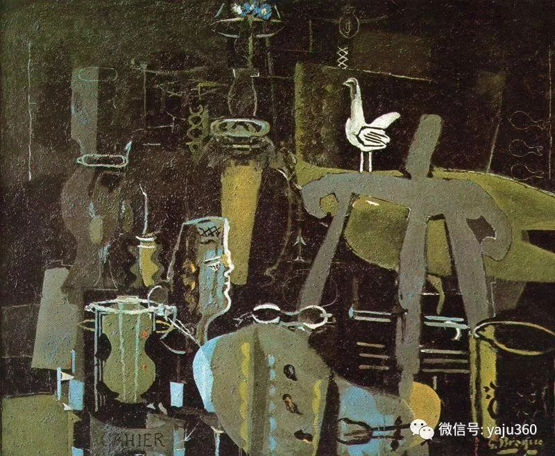 立体主义代表 法国画家乔治·勃拉克插图21