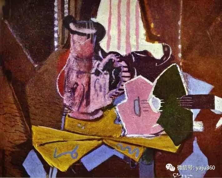 立体主义代表 法国画家乔治·勃拉克插图25