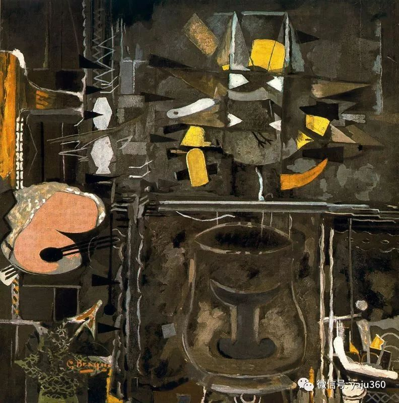 立体主义代表 法国画家乔治·勃拉克插图27
