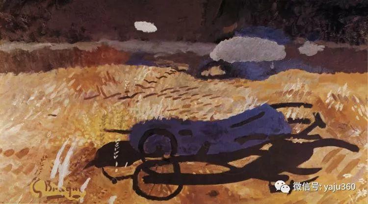 立体主义代表 法国画家乔治·勃拉克插图41