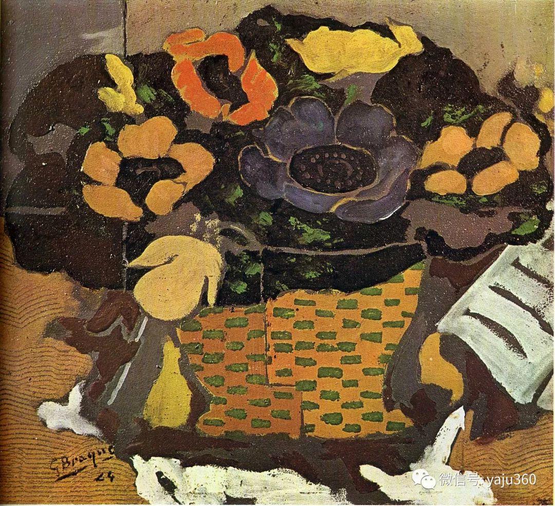 立体主义代表 法国画家乔治·勃拉克插图47
