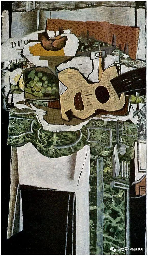 立体主义代表 法国画家乔治·勃拉克插图53