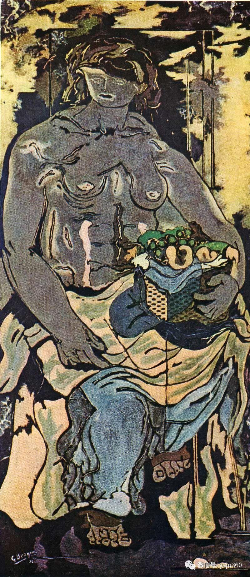 立体主义代表 法国画家乔治·勃拉克插图55