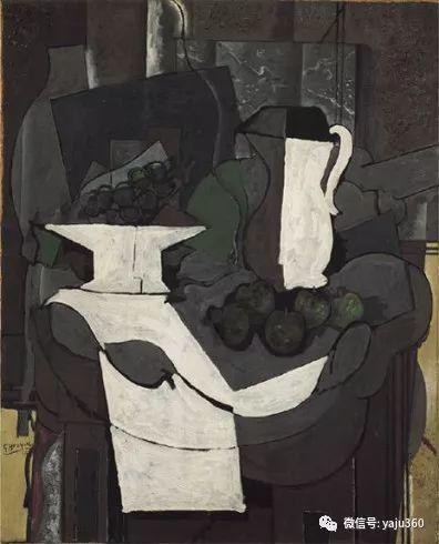 立体主义代表 法国画家乔治·勃拉克插图57