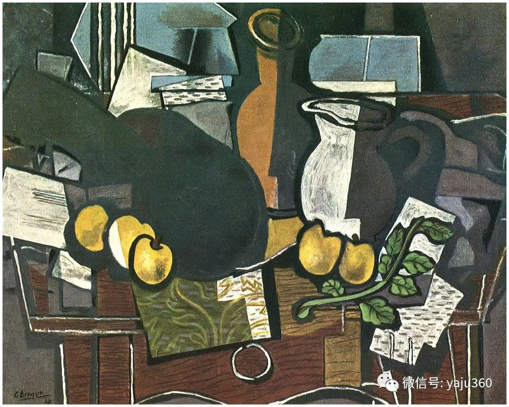 立体主义代表 法国画家乔治·勃拉克插图59