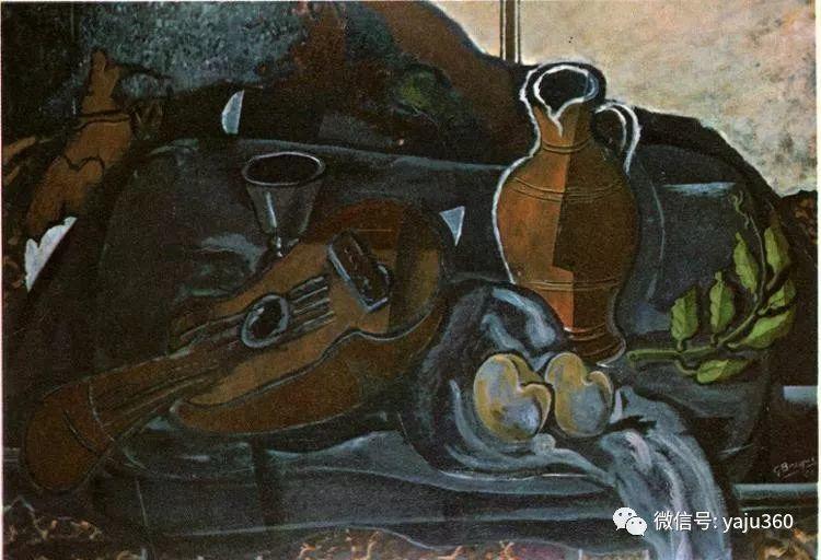立体主义代表 法国画家乔治·勃拉克插图61
