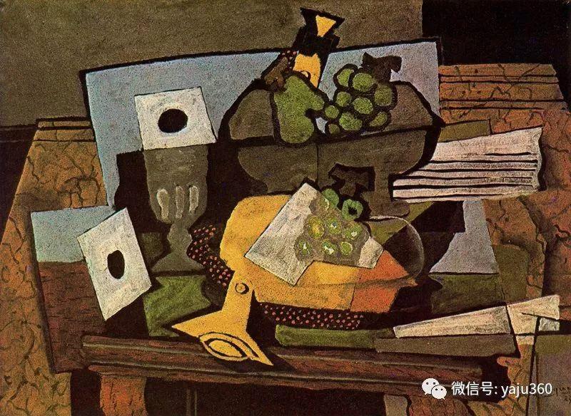 立体主义代表 法国画家乔治·勃拉克插图63