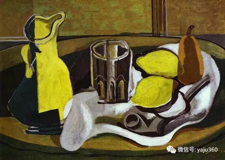 立体主义代表 法国画家乔治·勃拉克插图69