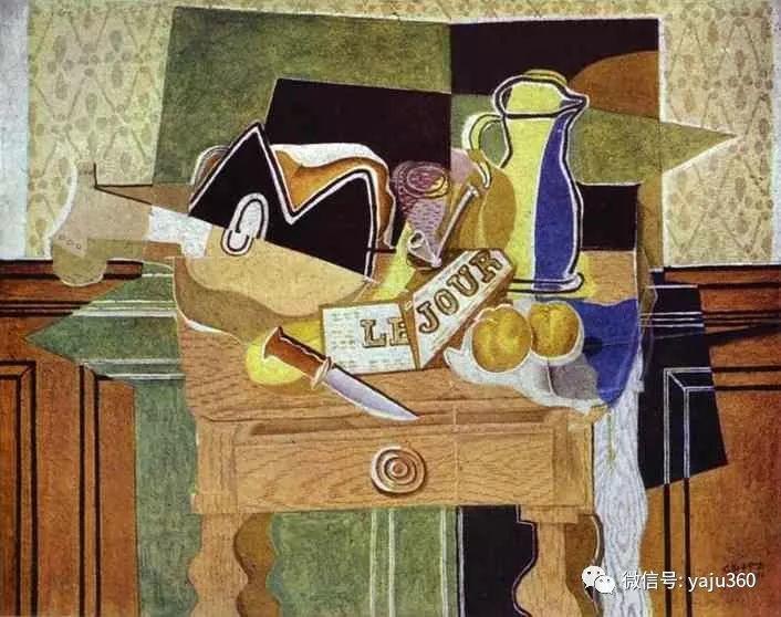 立体主义代表 法国画家乔治·勃拉克插图71