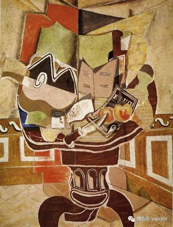 立体主义代表 法国画家乔治·勃拉克插图73