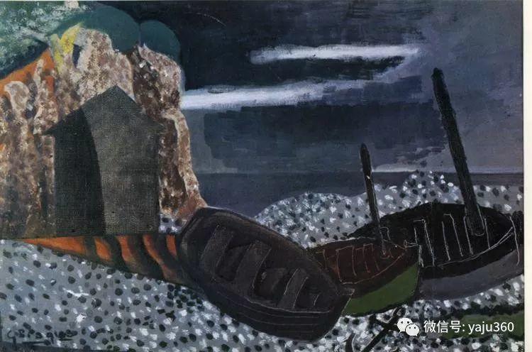 立体主义代表 法国画家乔治·勃拉克插图75