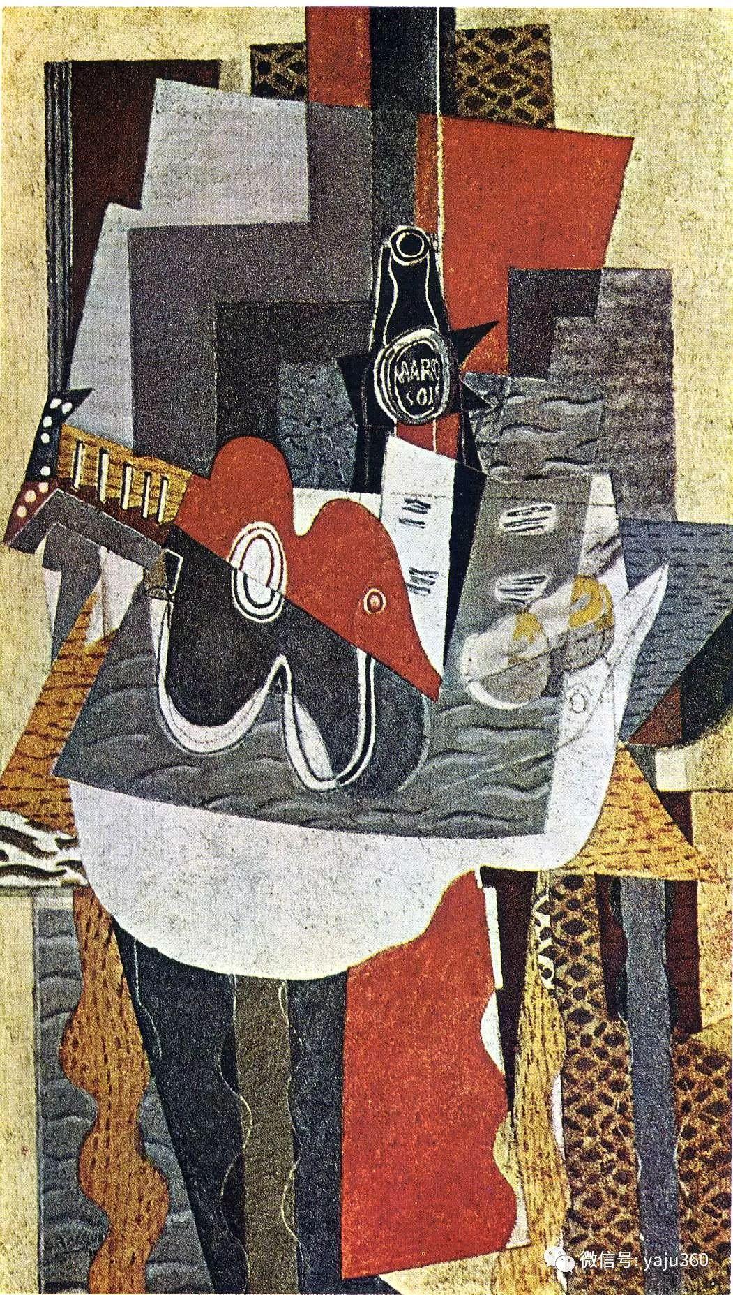 立体主义代表 法国画家乔治·勃拉克插图77