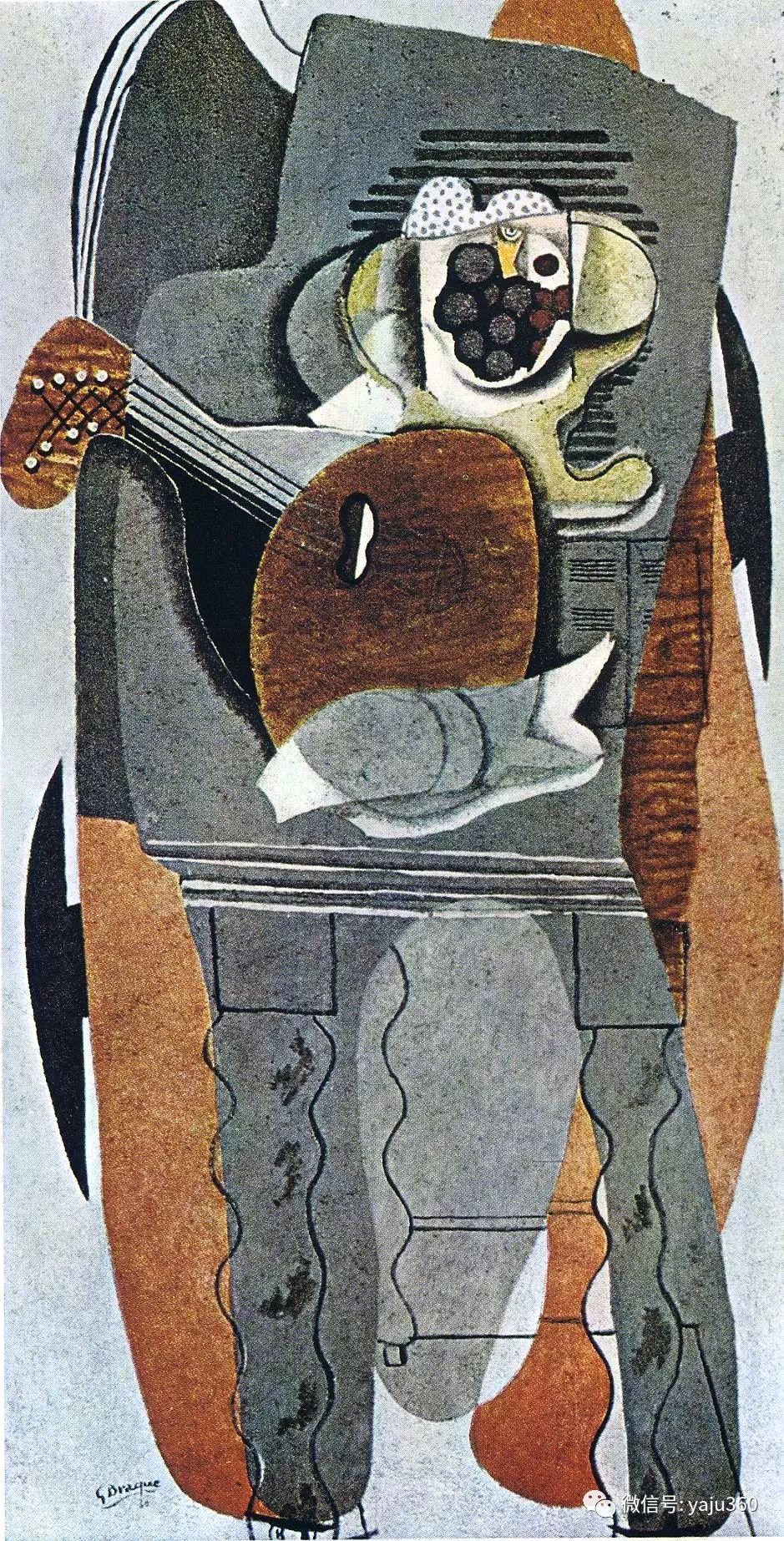 立体主义代表 法国画家乔治·勃拉克插图79