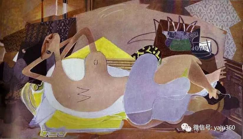 立体主义代表 法国画家乔治·勃拉克插图85