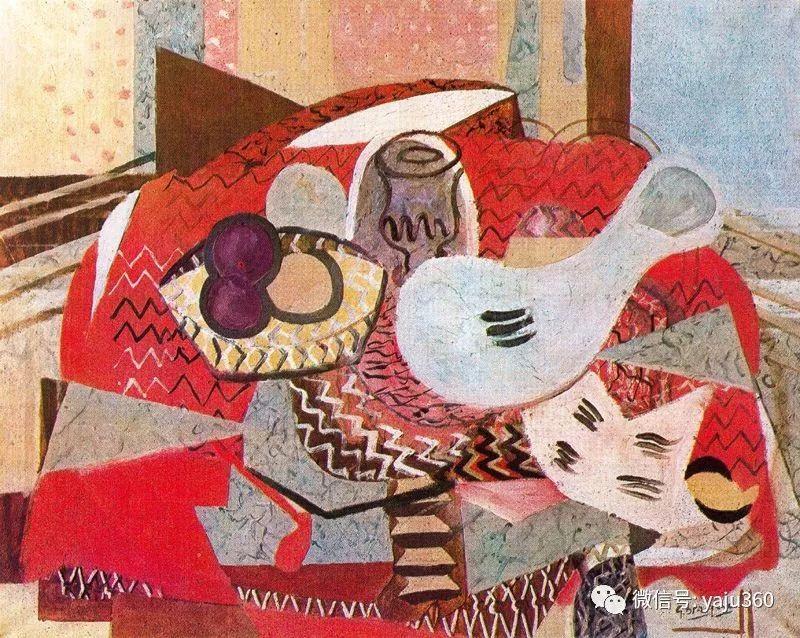 立体主义代表 法国画家乔治·勃拉克插图89