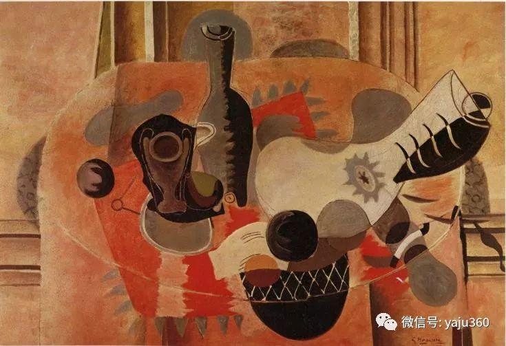 立体主义代表 法国画家乔治·勃拉克插图91