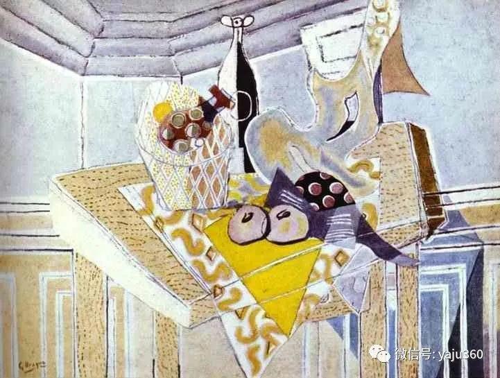 立体主义代表 法国画家乔治·勃拉克插图93
