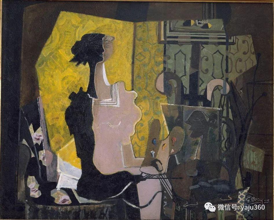 立体主义代表 法国画家乔治·勃拉克插图95