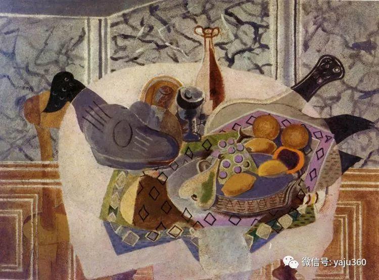 立体主义代表 法国画家乔治·勃拉克插图97