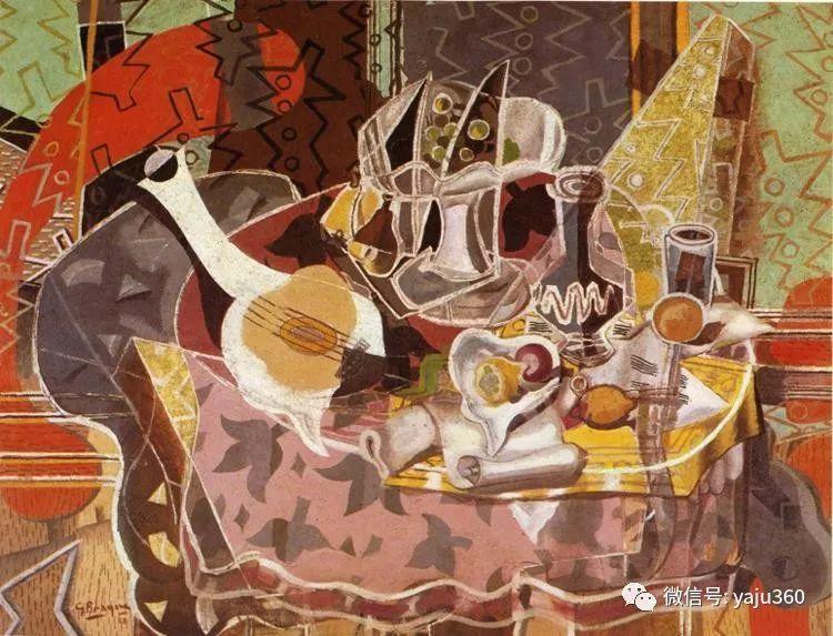立体主义代表 法国画家乔治·勃拉克插图101