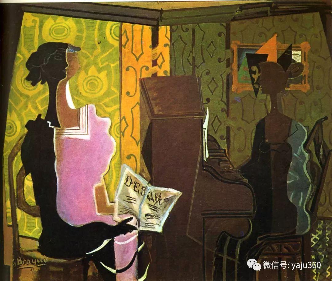 立体主义代表 法国画家乔治·勃拉克插图103
