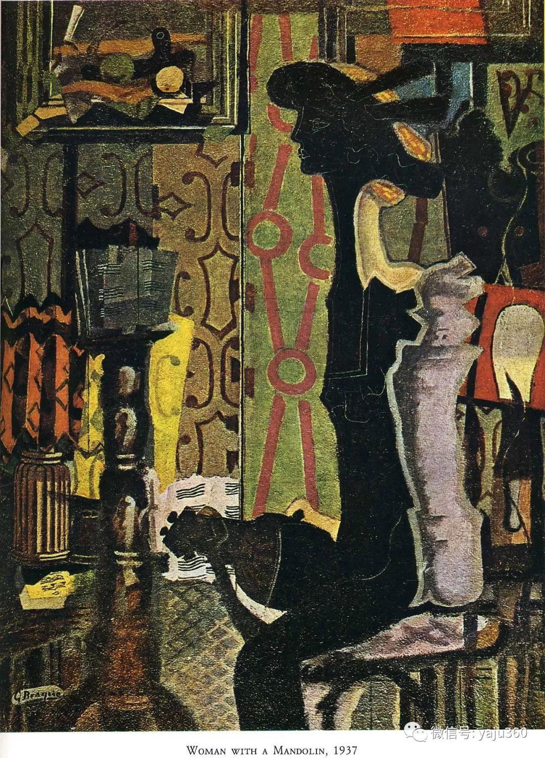 立体主义代表 法国画家乔治·勃拉克插图105