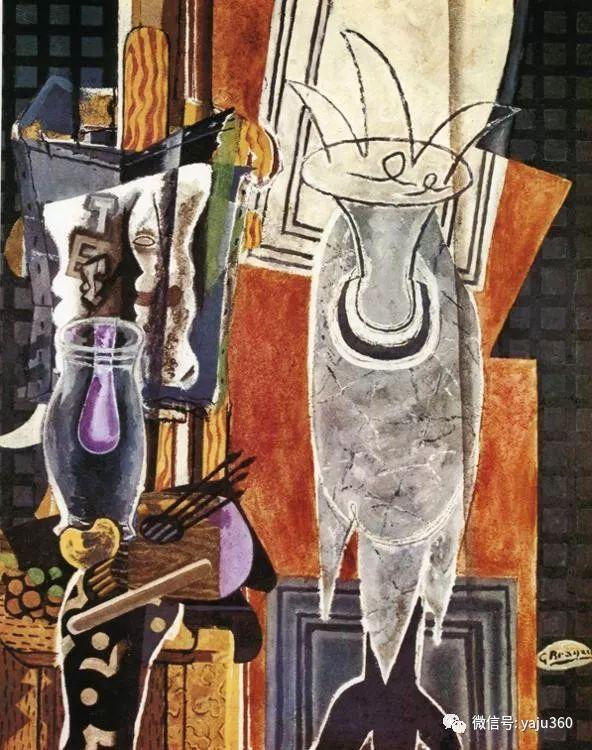 立体主义代表 法国画家乔治·勃拉克插图107