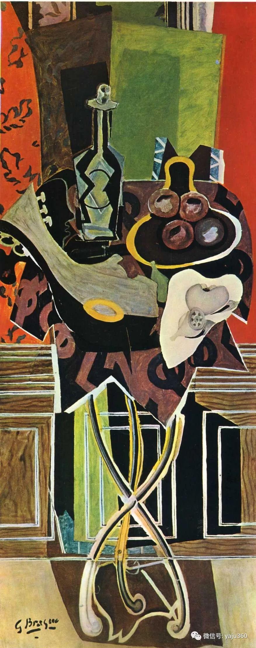 立体主义代表 法国画家乔治·勃拉克插图109