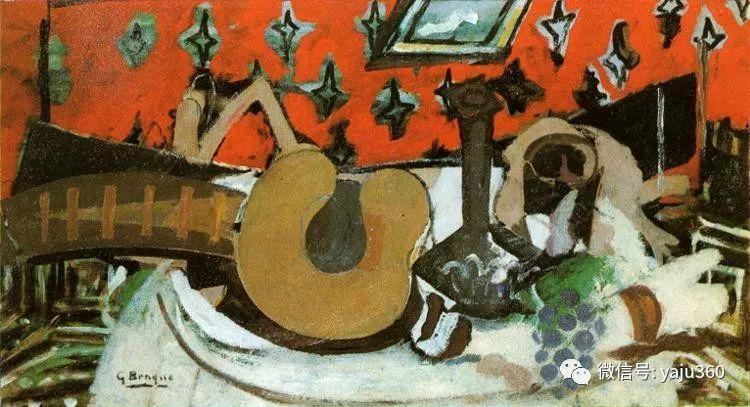 立体主义代表 法国画家乔治·勃拉克插图111