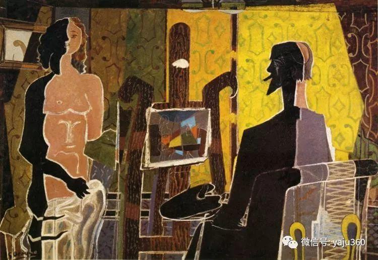 立体主义代表 法国画家乔治·勃拉克插图113