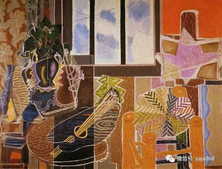 立体主义代表 法国画家乔治·勃拉克插图115